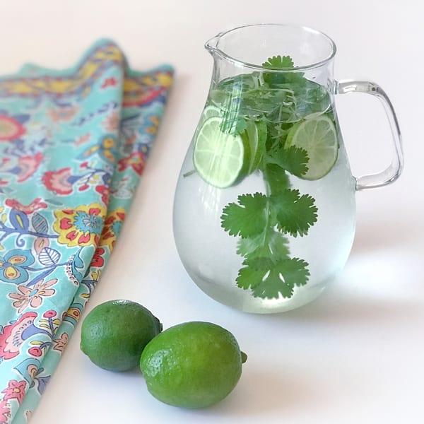 Cilantro Lime Water