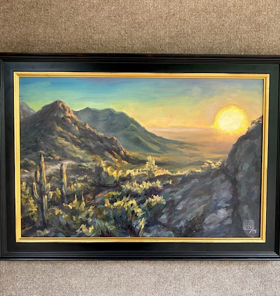 Sonoran Glow  Art | Ans Taylor Art