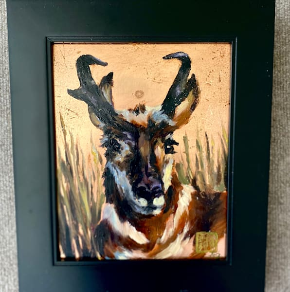 King Of The Plains   Copper State Series Art | Ans Taylor Art