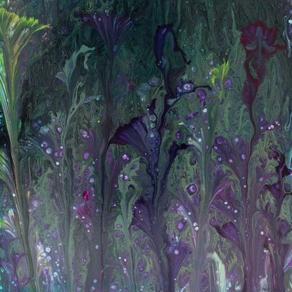 Fireflies In Flowers Art | Paula Rae Studio