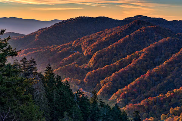 Sunrise at Newfound Gap | Shop Photography by Rick Berk