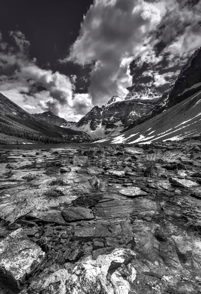 Consolation Valley in Banff National Park. Canadian Rockies|Rocky Mountains|