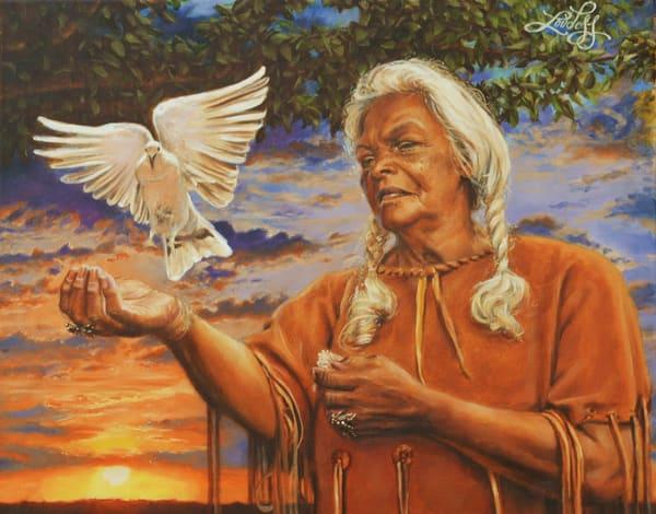 Quiet Dove Art | James Loveless Art