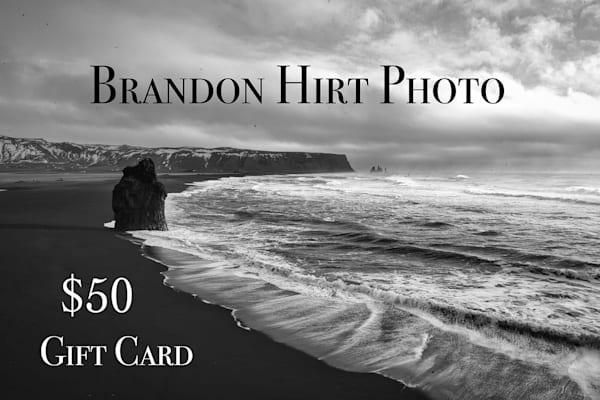 $50 Gift Card | Brandon Hirt Photo