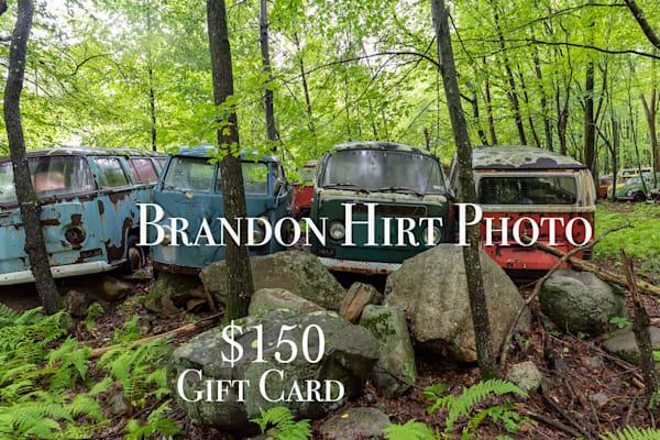 $150 Gift Card | Brandon Hirt Photo