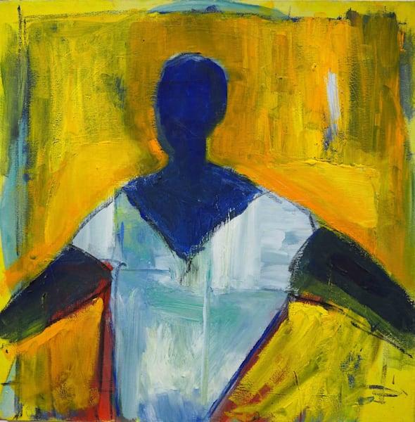 Woman In White Art | stephengerstman
