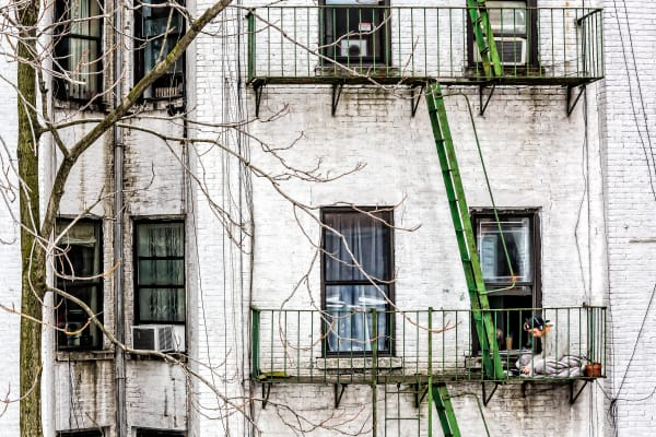 The Fire Escape Photography Art | Robert Leaper Photography