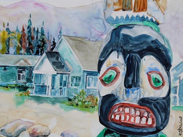 Totem At Tekarra   Karen Bishop Artist