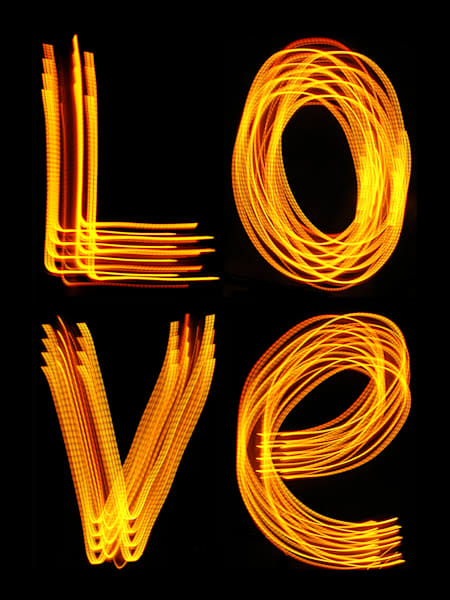 Love Light Painting Photography Art | David Louis Klein