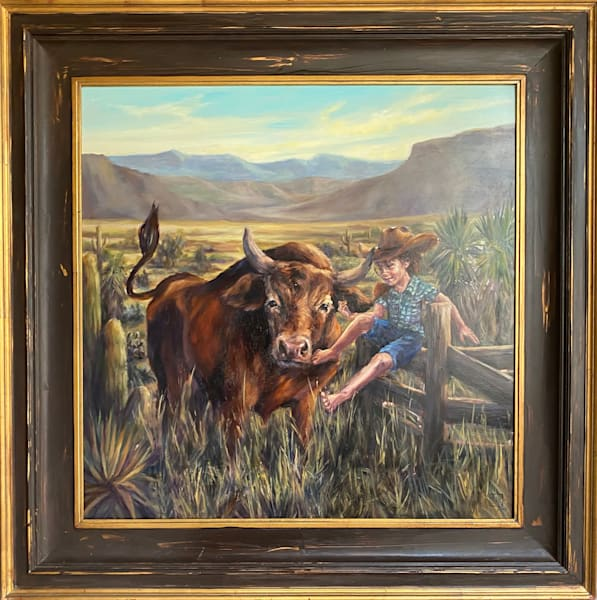 Rodeoed Out Art | Ans Taylor Art