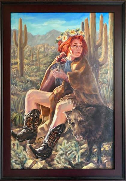Cactus Queen: Audience Art | Ans Taylor Art