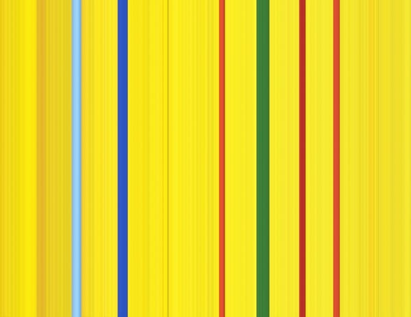 Yellow, Red, Green, And Blue Art | Maciek Peter Kozlowski Art