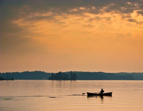 Muskoka Rower Photography Art | Robert Leaper Photography