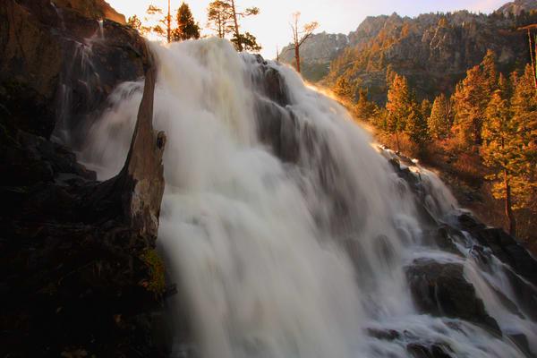 Eagle Falls Flow Art | Benko Art Gallery