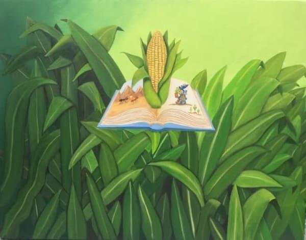 El Dios Del Maiz Art | Ralwins Art Gallery