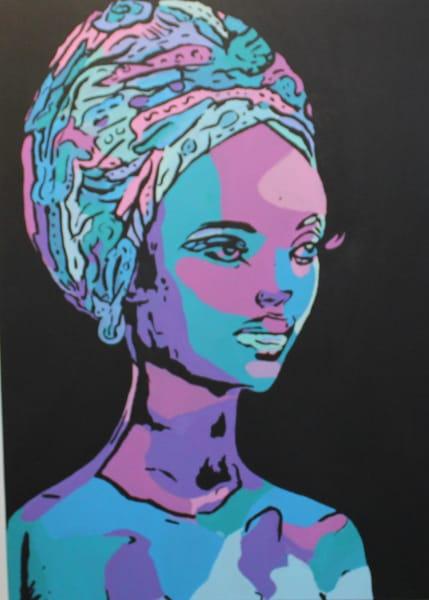 Africa De Perfil Art | Ralwins Art Gallery