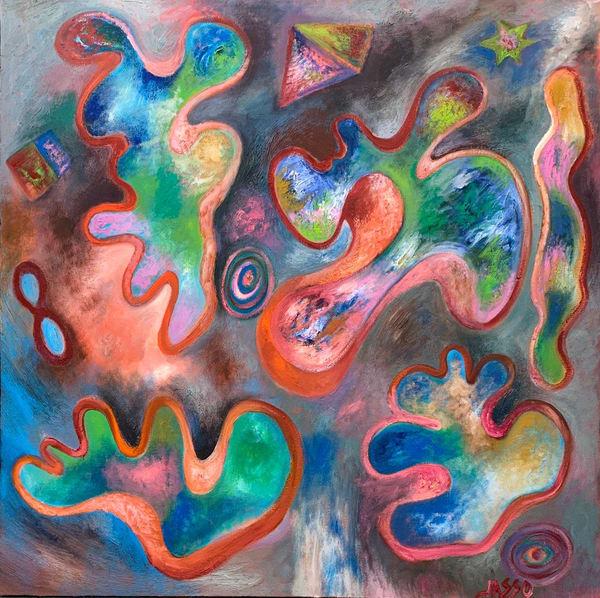 Abstracciones Infinitas X Art | Ralwins Art Gallery