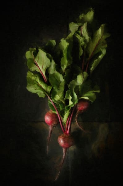 The Bunched Beets, Still life, Ben Fink art prints, photography