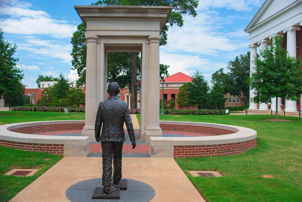 James Meredith statue at Ole Miss