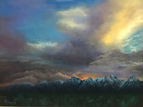 Fire Over The Mountains Art | Mark Grasso Fine Art