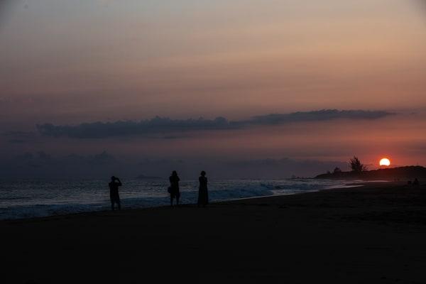 SUNSET,  KAUAI, BEACH