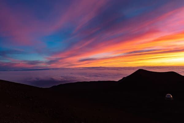Sunset On Top Of Mauna Kea  Art   JMohar.com