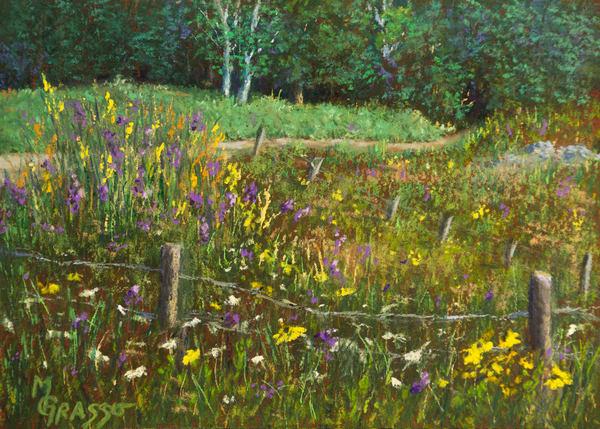 Field At Morse Farm Art | Mark Grasso Fine Art