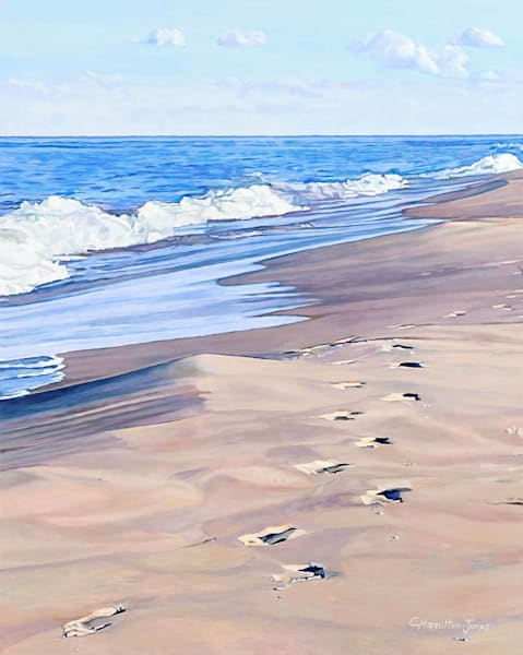 Footprints and the Tide