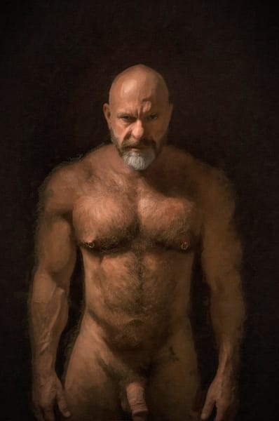 Looming Christopher, Men of a certain age, Ben Fink art prints, photo