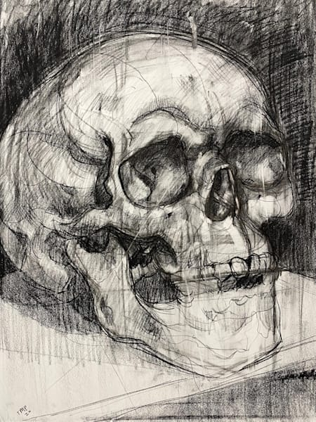 Original Artwork | Skull V.4 Art | Matt Pierson Artworks