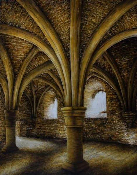 Fenêtres De Sous Sol, Abbaye De Fontenay Art | Fountainhead Gallery