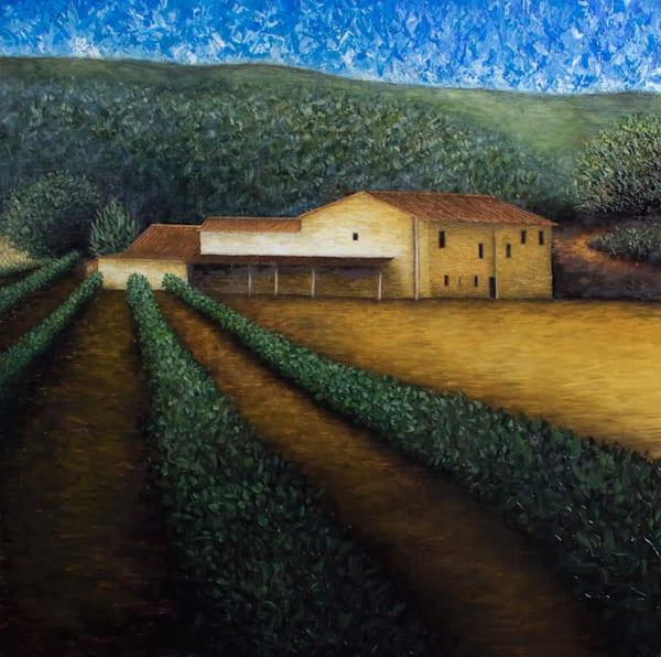 Maison de vigneron à Ménerbes
