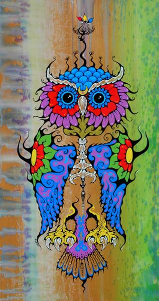 Owl Spirit Print