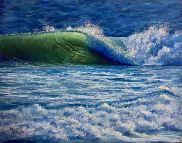 Morning Curl Art | Mark Grasso Fine Art