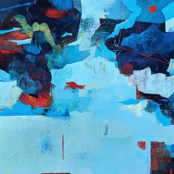 Susanne Clark Journey 24x24 300 Art | Susanne Clark