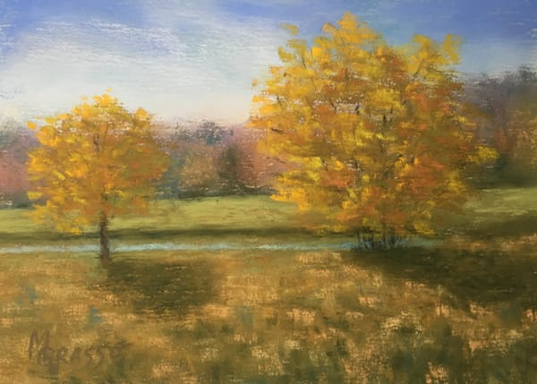Autumn Gold Art | Mark Grasso Fine Art