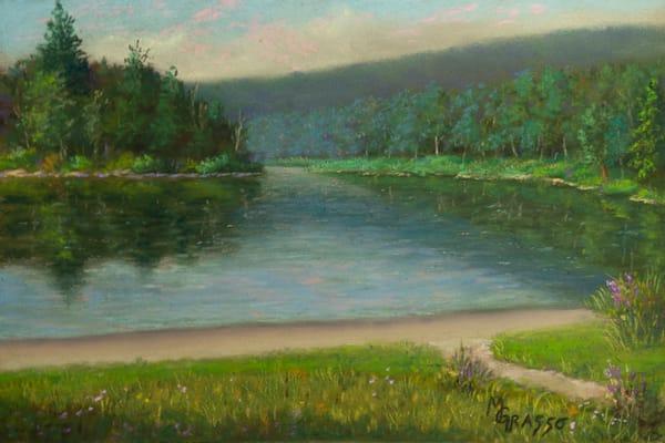 Lakeside Reflections Art | Mark Grasso Fine Art