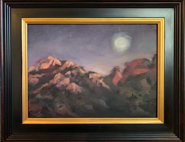 Schnebly Hill Nocturne Art | Ans Taylor Art
