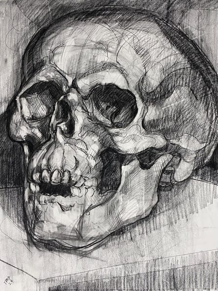 Original Artwork | Skull V.5 Art | Matt Pierson Artworks