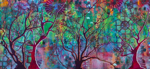 Winter Forest Art | Becka Watkins Art