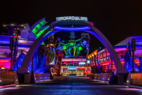 Tomorrowland 2019 at Night - Magic Kingdom Images