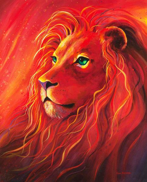 Samuel S Lion Art | House of Fey Art