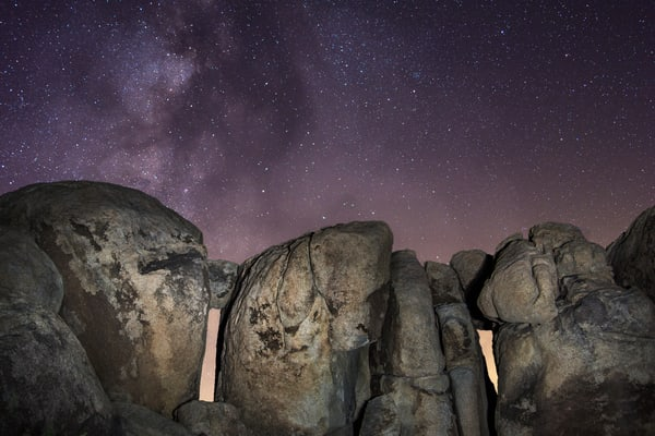Stonehenge at Joshua Tree National Park