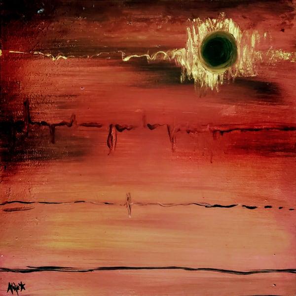 Black Hole Sun (Sold) Art | Sacred Star Arts