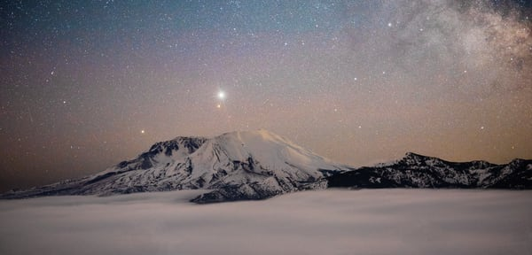 Planets Pano Mt St Helens