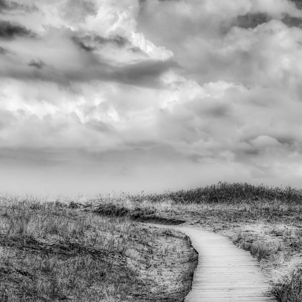 Cloudy Boardwalk  Art | capeanngiclee