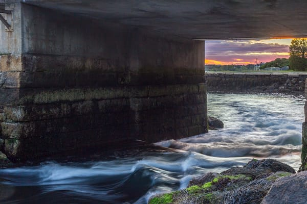 Under The Bridge Art | capeanngiclee