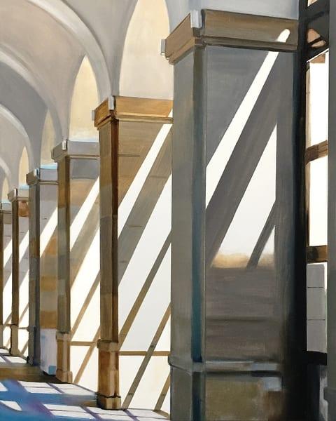 Shadows At The Sofia Art   Allan Gorman Fine Art