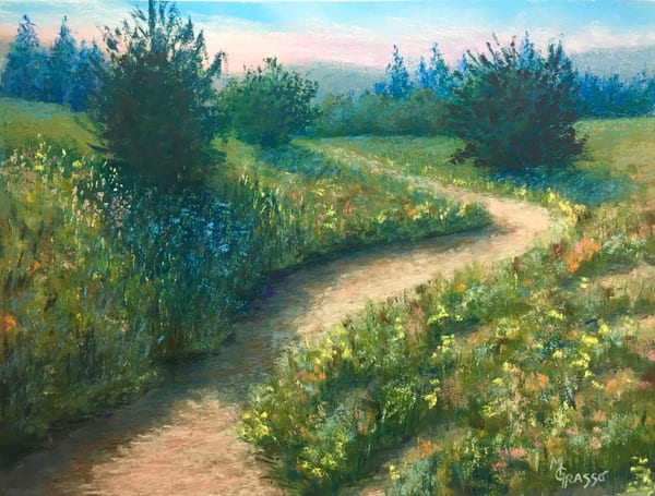 Summer Path Art | Mark Grasso Fine Art