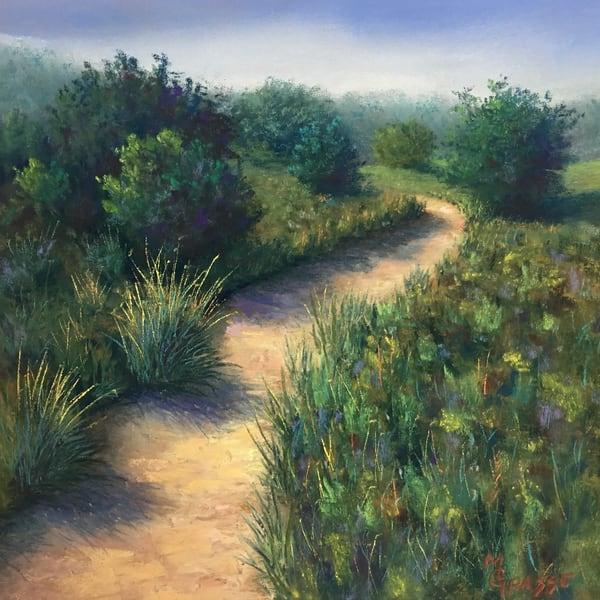 Summer Path Shadows Art | Mark Grasso Fine Art